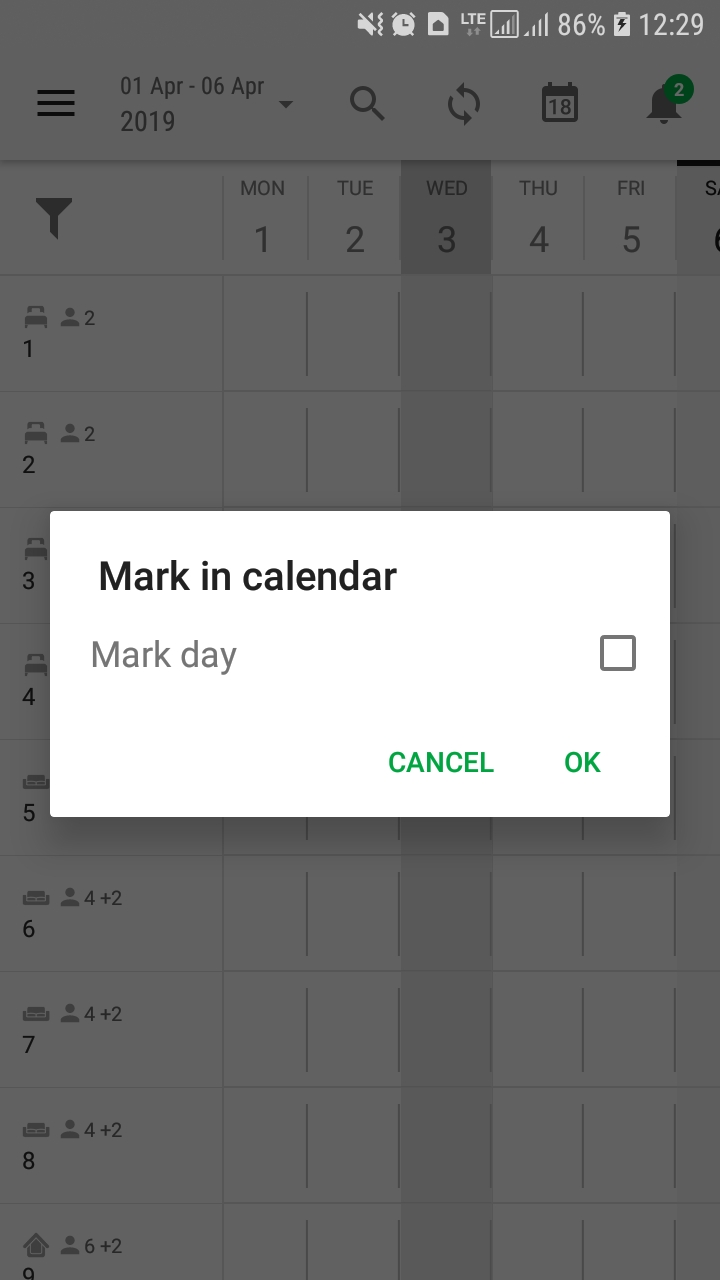 3._Mobile_phone_-_Android_-_BedBooking_-_Booking_calendar_-_Unmark_the_day.jpg